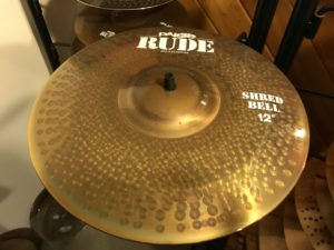 12 inch Shred Bell, Paiste Rude Series