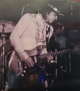 Stevie Ray Vaughn- at The Stanhope House