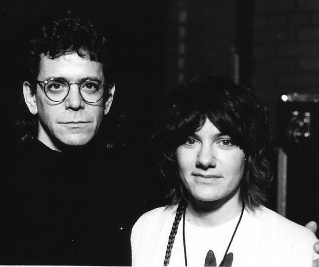 Lou Reed and Brenda Sauter