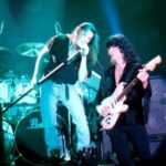 Doogie White and Ritchie Blackmore